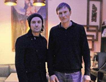 Гела Гуралиа в студии Тату Дракон