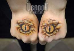 Прикольная татуировка